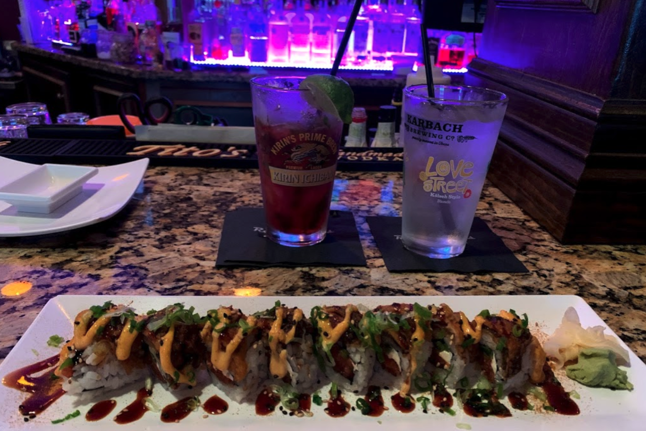 Best Sushi in North Padre - Rock & Rolls Sushi Lounge
