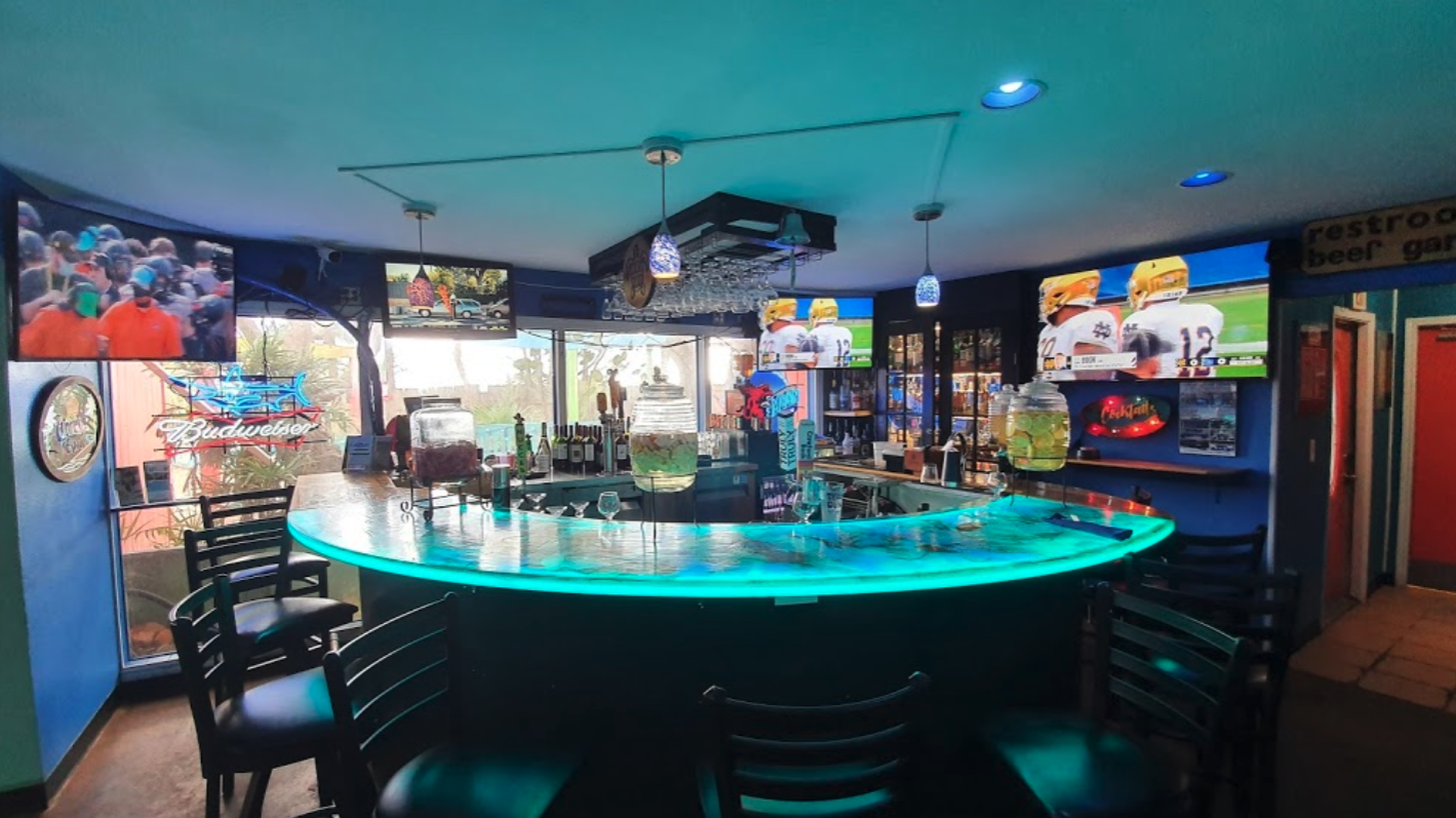 Best Restaurants in North Padre Island - Angry Marlin Restaurant